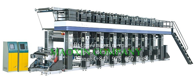 ELECTRIC AUTOMATIC SEVEN COLOR PRINTING MACHINE